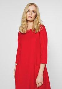 Wallis - BUCKET POCKET SWING DRESS - Jersey dress - red - 4