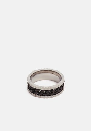 BAND WITH CHAIN DETAIL - Ring - silver-coloured