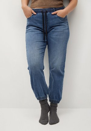 SPORTY - Relaxed fit jeans - dunkelblau