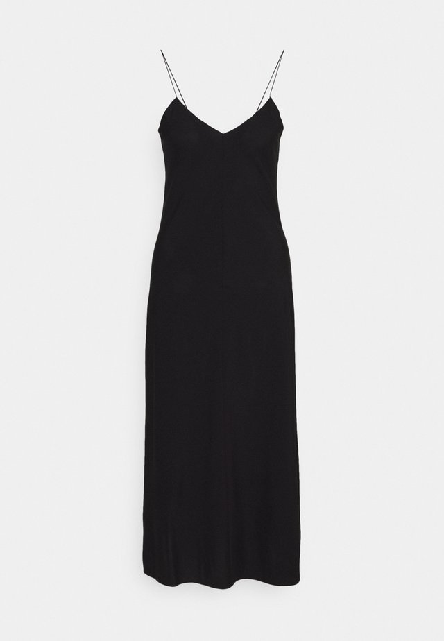 VALERIE LONG SLIP - Day dress - black