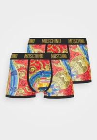 Moschino Underwear - TRUNK 2 PACK - Underbukse - multicolor - 0