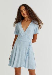 PULL&BEAR - Day dress - light blue - 5
