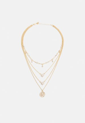 PCSKY COMBI NECKLACE - Halskette - gold-coloured