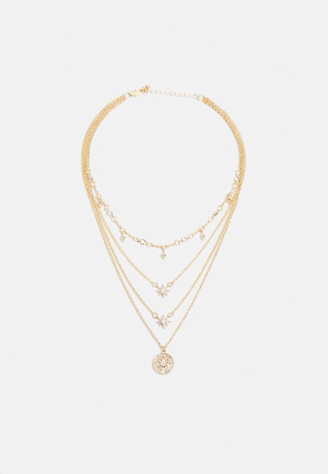 PCSKY COMBI NECKLACE - Smykke - gold-coloured