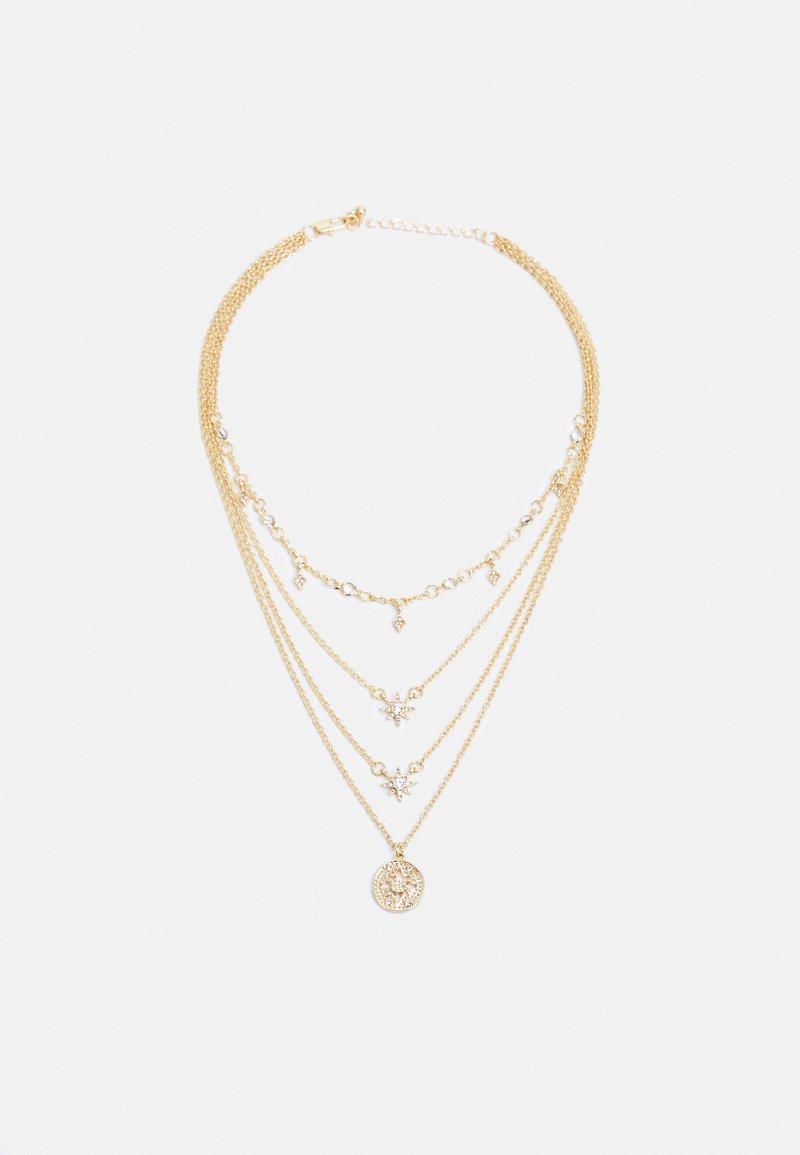 Pieces - PCSKY COMBI NECKLACE - Necklace - gold-coloured