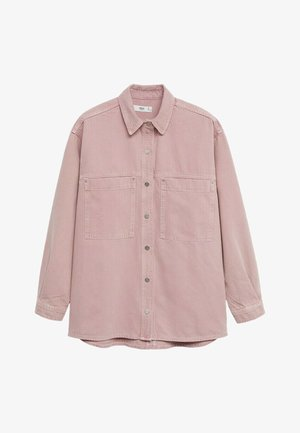 MICHELLE - Button-down blouse - lys/pastell lilla