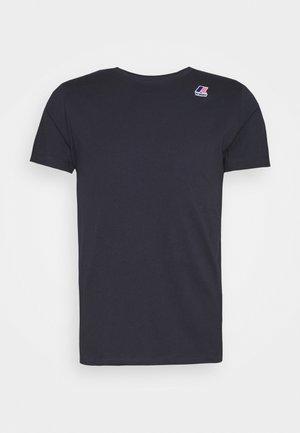 LE VRAI EDOUARD UNISEX - Basic T-shirt - blue depht