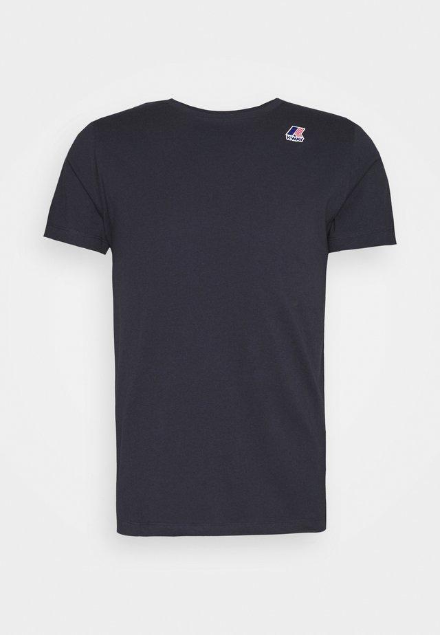 LE VRAI EDOUARD UNISEX - T-shirt basic - blue depht