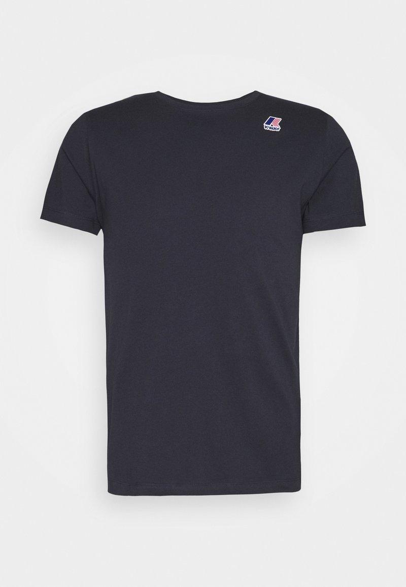 K-Way - LE VRAI EDOUARD UNISEX - Basic T-shirt - blue depht