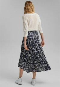 Esprit - Maxi skirt - navy - 2