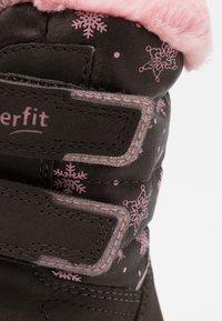 Superfit - CRYSTAL - Snowboots  - braun/rosa - 5