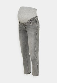 MAMALICIOUS - TOWN CROPPED COMFY - Slim fit jeans - light grey denim - 0