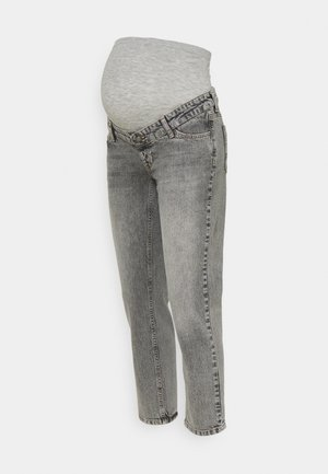 TOWN CROPPED COMFY - Slim fit jeans - light grey denim