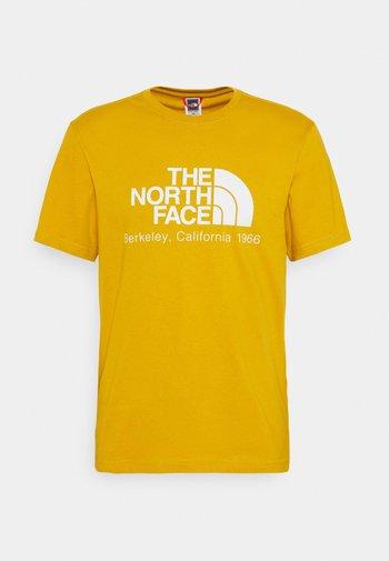 BERKELEY CALIFORNIA TEE - Print T-shirt - arrowwood yellow