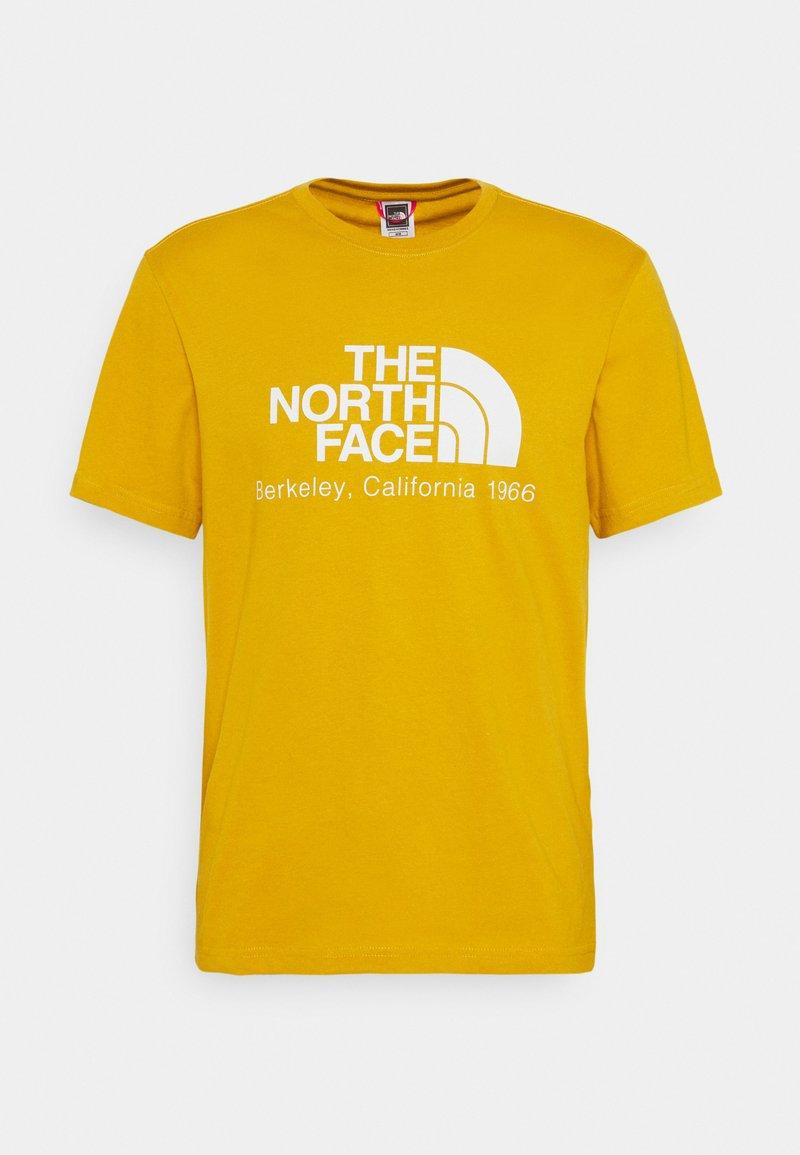 The North Face - BERKELEY CALIFORNIA TEE - Print T-shirt - arrowwood yellow