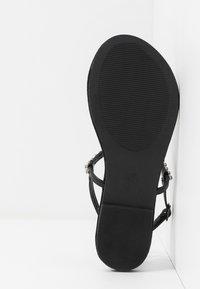 Anna Field Wide Fit - Flip Flops - black - 6