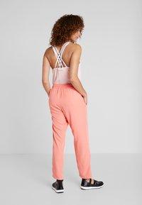 Luhta - HANDBY - Trousers - pink - 2