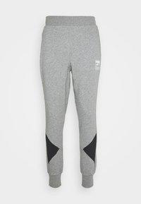 Puma - REBEL PANTS BLOCK - Pantalon de survêtement - medium gray heather - 4