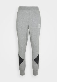 REBEL PANTS BLOCK - Teplákové kalhoty - medium gray heather