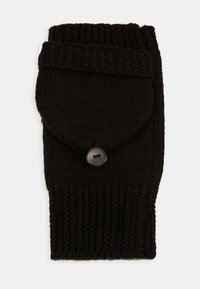 Even&Odd - WOOL - Rukavice bez prstů - black - 2