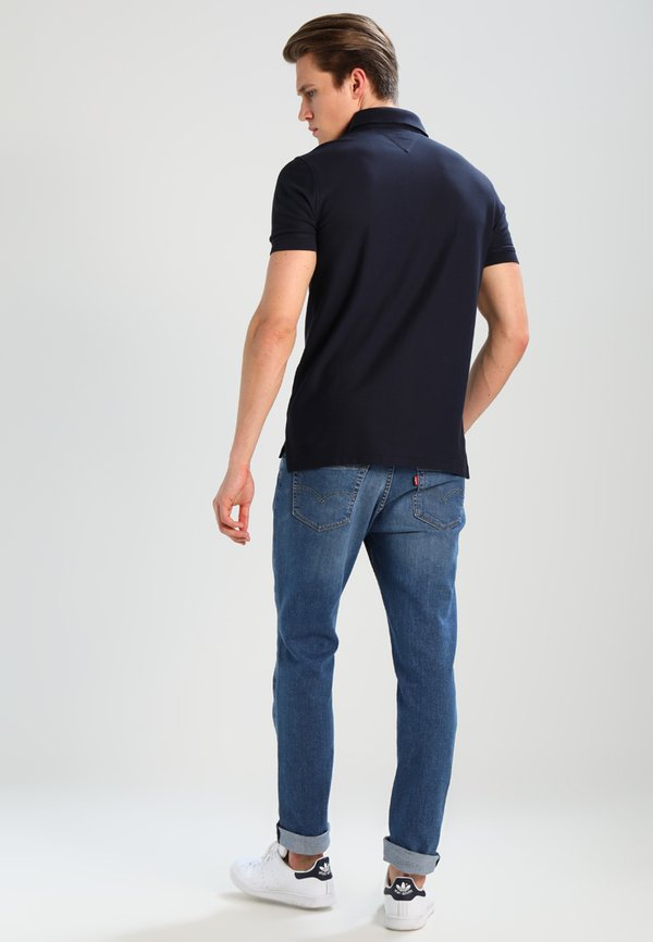 Tommy Hilfiger PERFORMANCE REGULAR FIT - Koszulka polo - blue/granatowy Odzież Męska YCBP