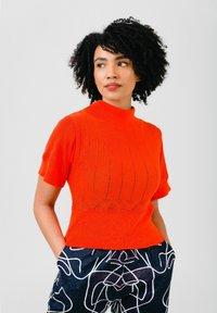 Solai - Print T-shirt - orange - 2