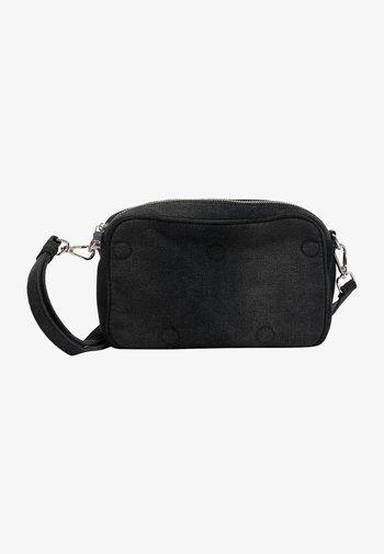Across body bag - schwarz denim