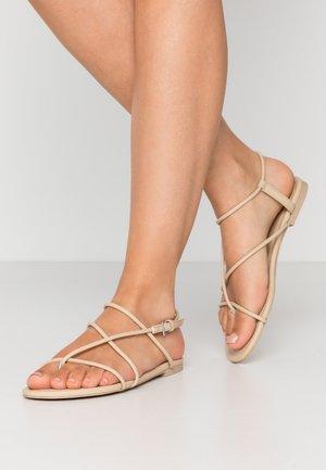 JANA  - Flip Flops - beige