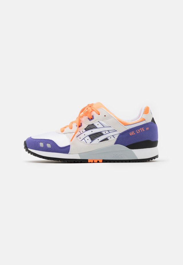 GEL-LYTE III UNISEX - Sneakers basse - white/orange