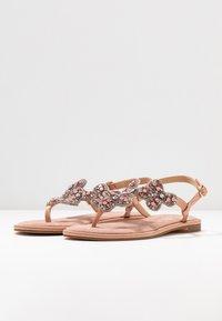 Alma en Pena - T-bar sandals - old pink - 4