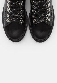 Glamorous Wide Fit - Kotníkové boty na platformě - black - 5