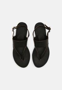 Timberland - CAROLISTA ANKLE - T-bar sandals - black - 4