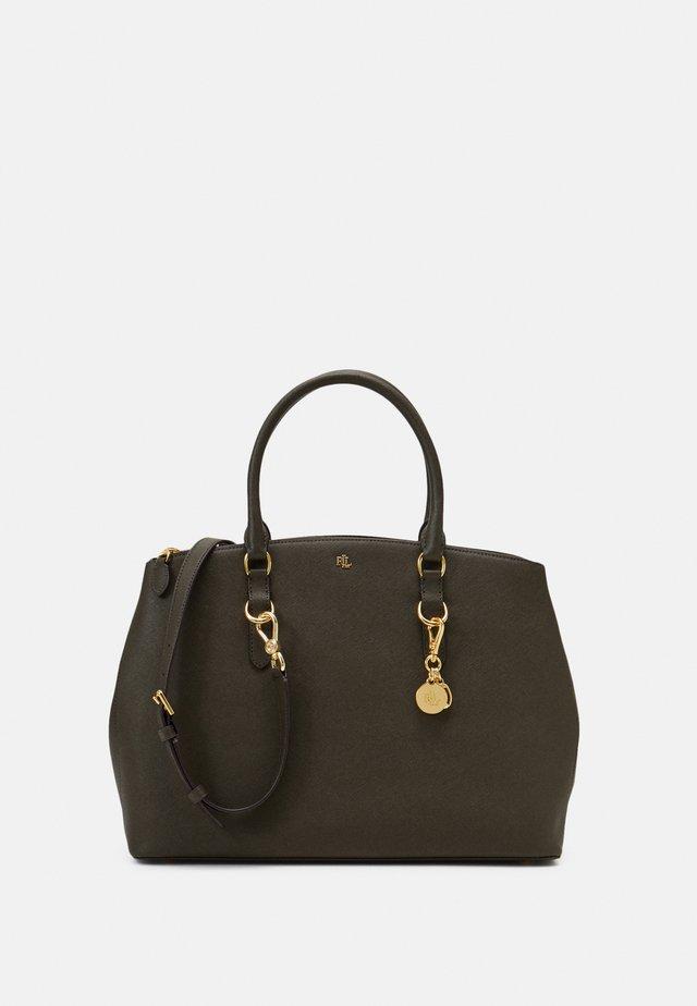 SATCHEL LARGE SAFFIANO - Handbag - deep olive
