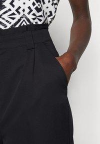 Vero Moda Tall - VMNATALIE PANTS  - Trousers - night sky - 4