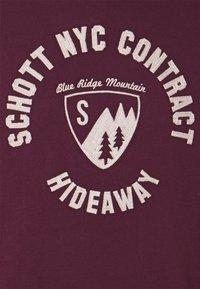 Schott - MOUNTAIN - Sweatshirt - bordeaux - 2