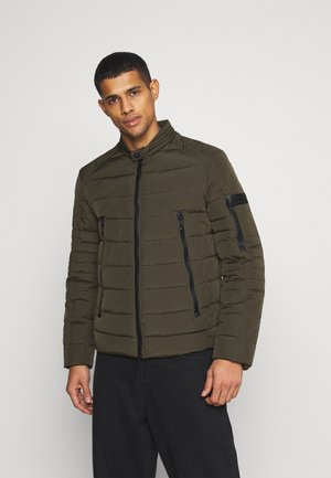 REGULAR FIT IN - Übergangsjacke - verde