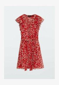 Massimo Dutti - Day dress - red - 5