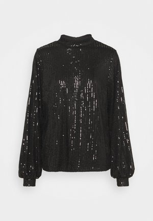 SEQUIN  - Blusa - black