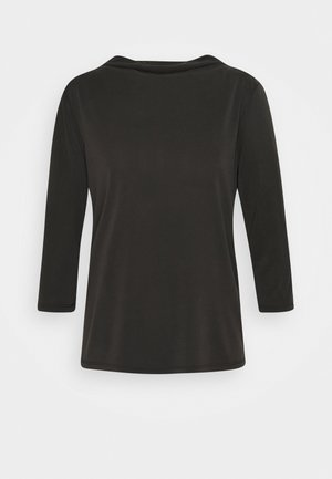 COLISSA - Long sleeved top - black