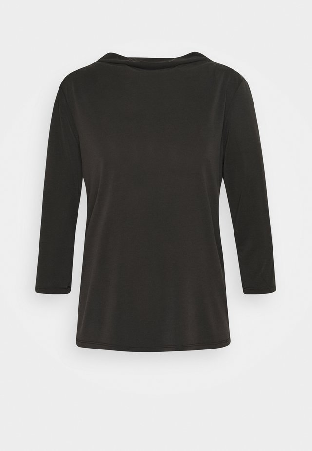 COLISSA - Top sdlouhým rukávem - black