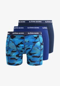Björn Borg - SHADELINE SAMMY SHORTS 3 PACK - Onderbroeken - total eclipse - 6