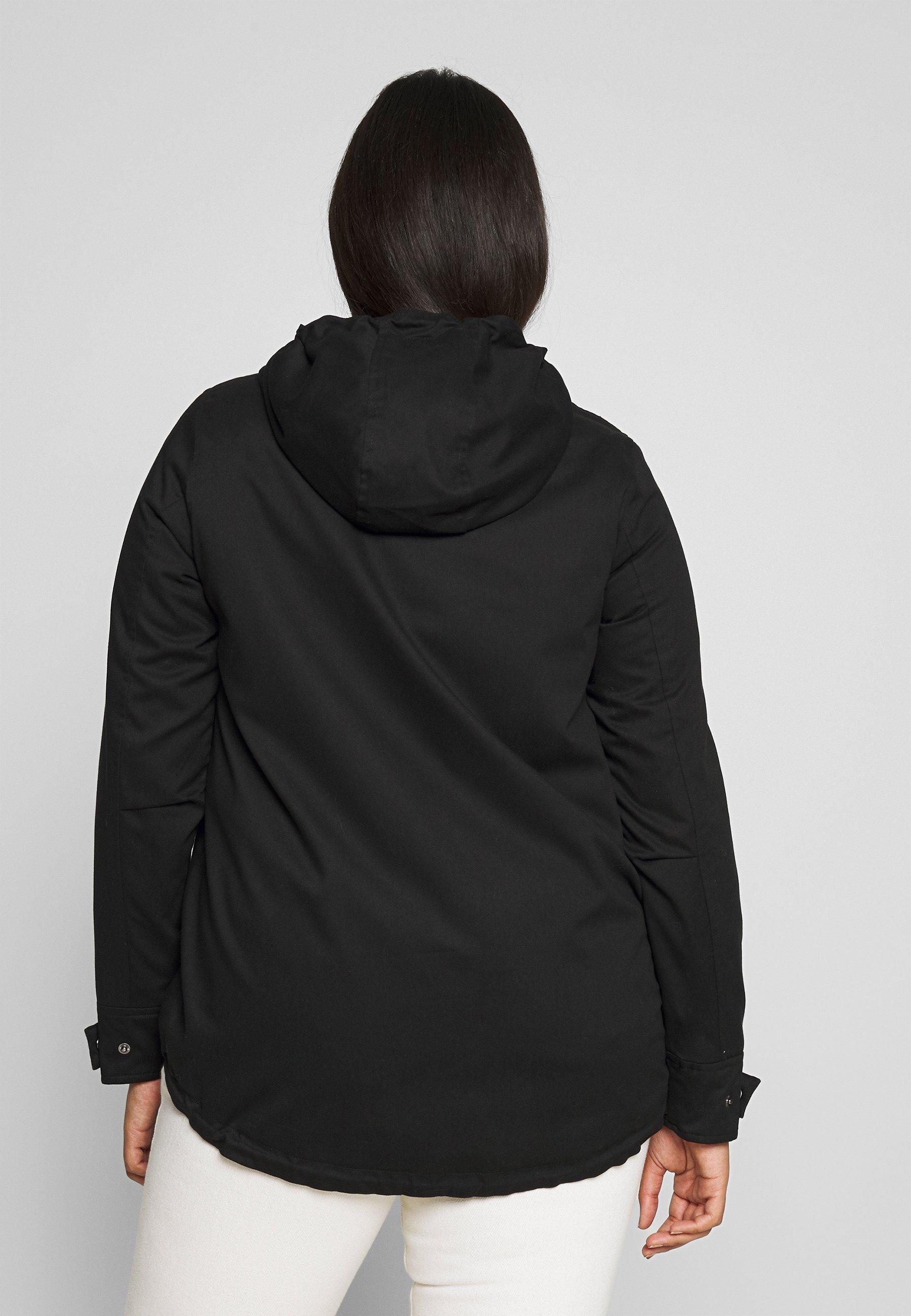 Zizzi MCAMMA JACKET Lett jakke black Zalando.no