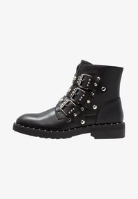 Even&Odd - Cowboy/biker ankle boot - black - 1