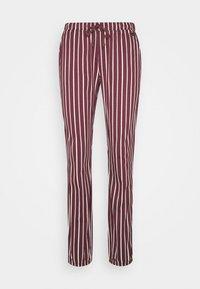 LASCANA - PANTS - Pyjama bottoms - bordeaux - 0