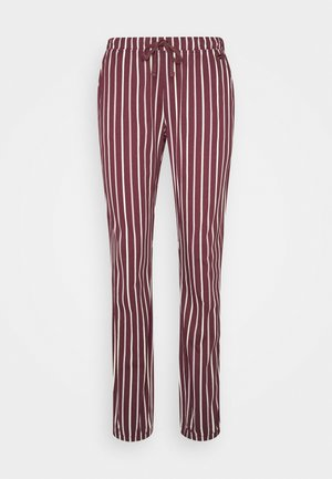 PANTS - Pyjamahousut/-shortsit - bordeaux