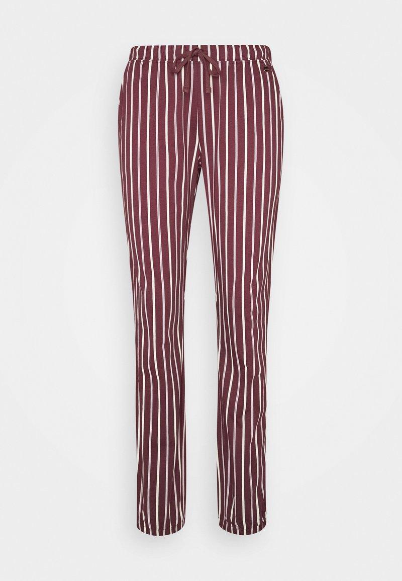 LASCANA - PANTS - Pyjama bottoms - bordeaux