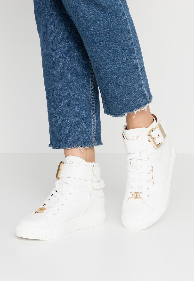 River Island - Sneakersy wysokie - white