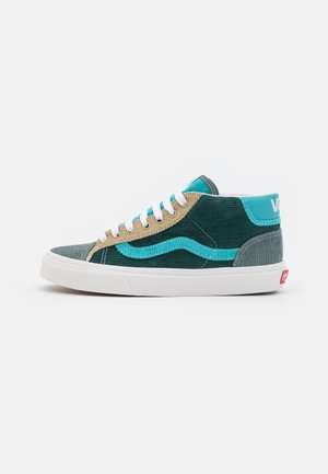 MID SKOOL 37 UNISEX - Höga sneakers - ponderosa pine/green