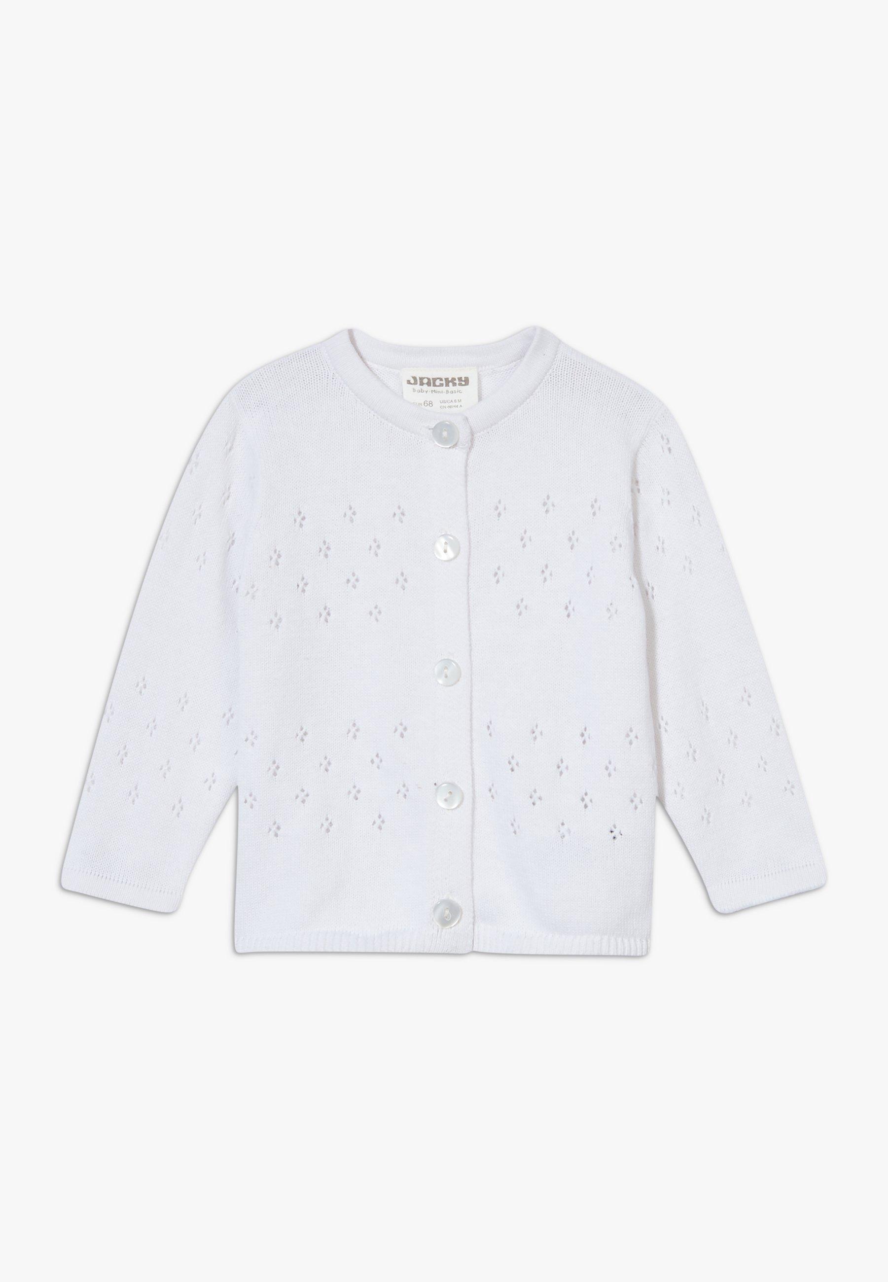 Große Förderung Jacky Baby ENCHANTED - Strickjacke - weiß | Damenbekleidung 2020