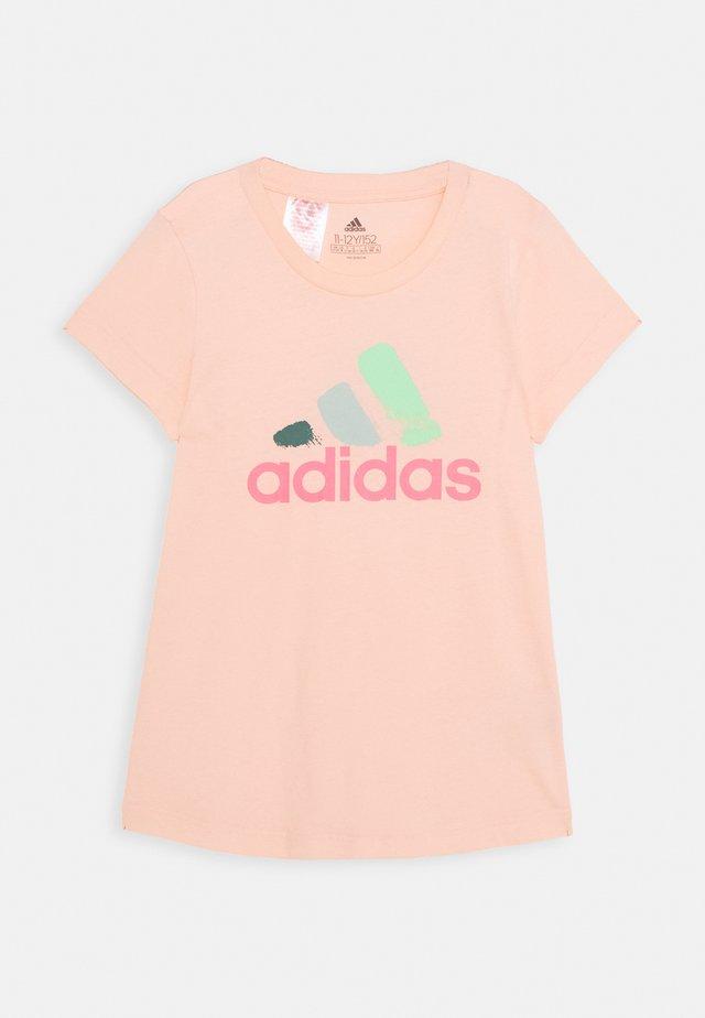 JG BOS GRAPH - T-shirt con stampa - pink